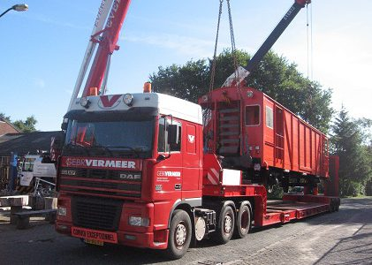 Gebr. Vermeer Industrial Movements is een uitstekend bedrijf voor logistieke dienstverlening
